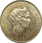 100 francs - Charlotte – avers