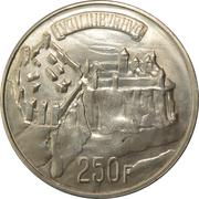 250 francs - Charlotte – revers