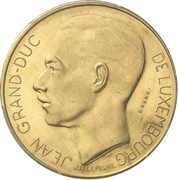 100 francs - Jean (Essai - Or) – avers