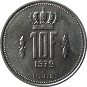10 francs - Jean -  revers