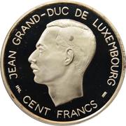 100 francs - Nations Unies – avers
