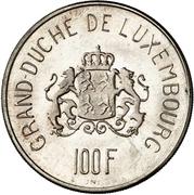 100 francs - Charlotte (Essai) – revers