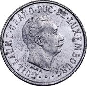 1 franc - Guillaume III (Essai) -  avers
