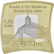 2,50 euros Musée d'art moderne Grand-Duc Jean – revers