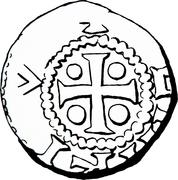 Denier - Henri II – avers