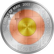2,50 euros The Family of Man – revers