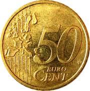 50 cents d'euro Henri (1ère carte) -  revers