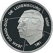 500 francs - Présidence de l'UE – avers