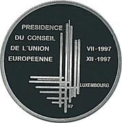 500 francs - Présidence de l'UE – revers