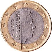 1 euro Henri (1ère carte) -  avers