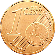 1 cent d'euro Henri – revers
