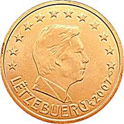 2 cents d'euro Henri -  avers