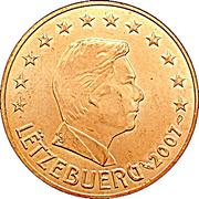 5 cents d'euro Henri -  avers