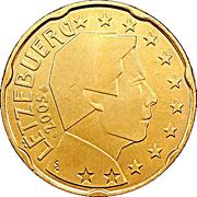 20 cents d'euro Henri (1ère carte) -  avers