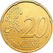 20 cents d'euro Henri (1ère carte) -  revers