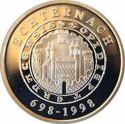 500 francs - Echternach – revers