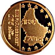 175 cents d'euro Indépendance – revers