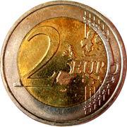 2 euros Henri (2e carte) -  revers