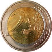 2 euros Château de Colmar-Berg – revers