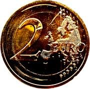 2 euros Traité de Londres -  revers
