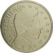 50 cents d'euro Henri (2e carte) -  avers