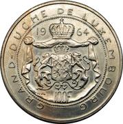 100 francs - Jean (Essai - Cupronickel) – revers