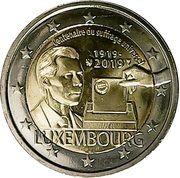 2 euros Suffrage universel -  avers
