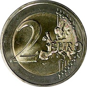 2 euros Suffrage universel -  revers