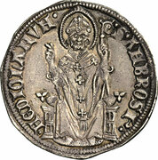 1 Grosso - Henry VII of Luxembourg (1311-1313) – revers