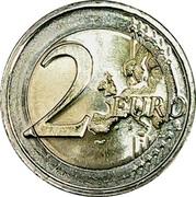 2 euros Henri d'Orange-Nassau -  revers