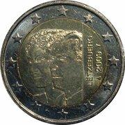 2 euros Grande-Duchesse Charlotte – avers