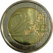 2 euros Monogramme du Grand-Duc Henri -  revers