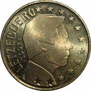 50 cents d'euro Henri (1ère carte) – avers