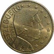 50 cents d'euro Henri (2e carte) – avers