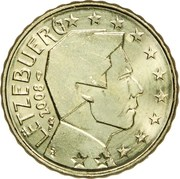 10 cents d'euro Henri (2e carte) -  avers