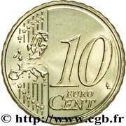 10 cents d'euro Henri (2e carte) -  revers