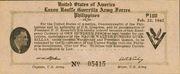 100 Pesos (Luzon USAFFE Guerilla Army Force) – avers