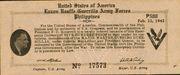 500 Pesos (Luzon USAFFE Guerilla Army Force) – avers