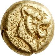 Hemihekte - Alyattes II (Kings of Lydia; Uncertain mint) – avers