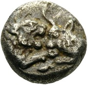 1/24 Stater - Kroisos (Dynasts of LYCIA; Sardes) – avers
