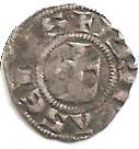 Obole ou petit denier de l'archevêché de Lyon - Anonyme (XII-XIVème siècle) – avers