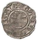 Obole ou petit denier de l'archevêché de Lyon - Anonyme (XII-XIVème siècle) – revers