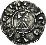 Denier - Conrad I of Burgundy – avers