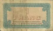 1 franc - Chambre de Commerce de Lyon [69] – revers