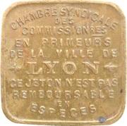 10 Centimes - Chambre Syndicale des Commissionnaires en Primeurs - Lyon [69] – avers