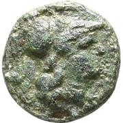 Bronze Æ10 (Lysimachia) – avers