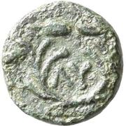 Bronze Æ10 (Lysimachia) – revers