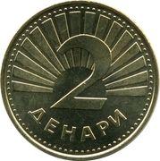 2 denari – revers