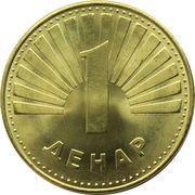 1 Denar (magnétique) -  revers