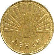 1 denar -  revers